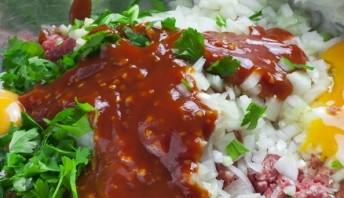 Мясо, запеченное в тесте - фото шаг 2