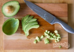 Салат из лангустов - фото шаг 7