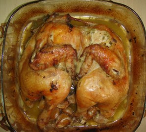 Курица целиком с шалфеем - фото шаг 6