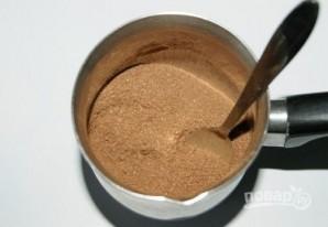 Глазурь из какао и молока - фото шаг 1