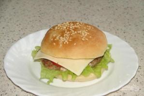 """Гамбургер """"Макдональдс"""" - фото шаг 6"""