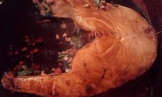 Стейк из сибаса - фото шаг 6