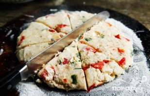 Лепешки с овощами и сыром Фета - фото шаг 3