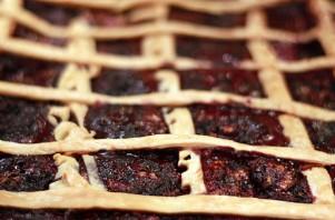 Черничный пирог на слоеном тесте - фото шаг 5