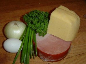 Картошка с ветчиной и сыром - фото шаг 2