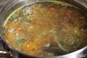 Суп с лисичками - фото шаг 7