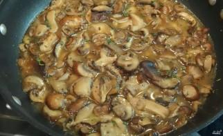 Рулет из индейки с грибами и сыром - фото шаг 3
