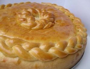 Закрытый пирог с мясом - фото шаг 9