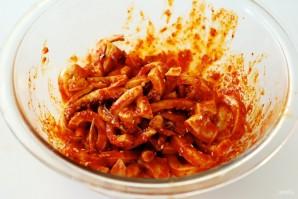 Салат из морепродуктов - фото шаг 3