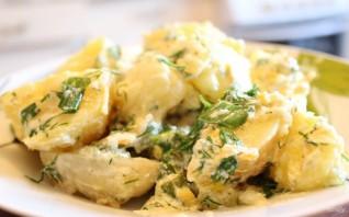 Картошка в духовке со сметаной и сыром - фото шаг 9