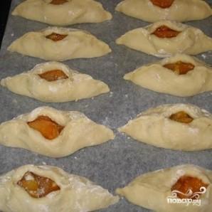 Пирожки с абрикосами - фото шаг 5