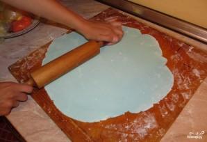 Детский торт с мастикой своими руками - фото шаг 1