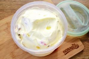 Мороженое с фруктами - фото шаг 4