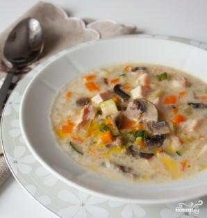Суп из цукини - фото шаг 4