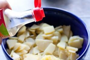 Салат со свеклой и картошкой - фото шаг 2