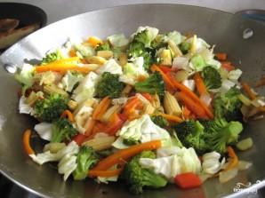 Лапша с овощами по-китайски - фото шаг 8