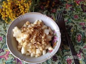 Салат с кальмарами и сыром - фото шаг 7
