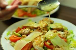 Теплый салат с курицей - фото шаг 12