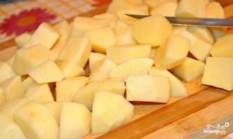 Картофель с мясом и овощами - фото шаг 2