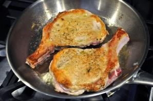 Мясо с помидорами и сыром - фото шаг 5