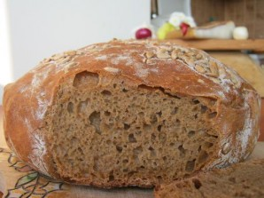 Воздушный хлеб в духовке - фото шаг 9
