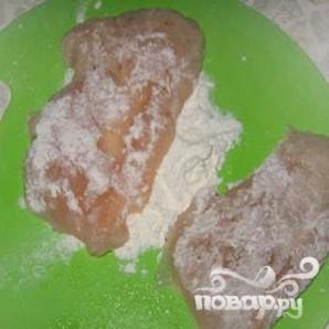 Куриное филе с грибами под сыром - фото шаг 2