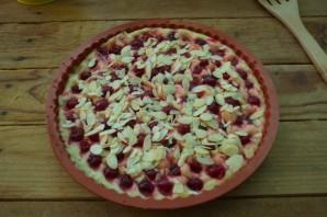 Пирог с миндалем и вишней - фото шаг 5
