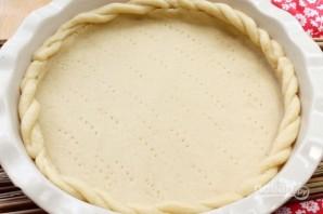 Яблочный пирог с песочным тестом - фото шаг 7