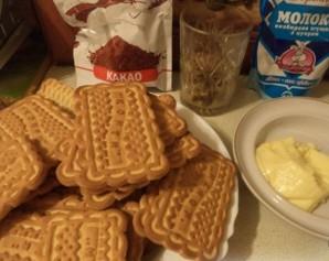 Пирожное картошка на скорую руку - фото шаг 1