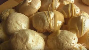 Торт-безе со сгущенкой - фото шаг 4