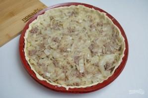 Супер нежный пирог с капустой и мясом - фото шаг 8