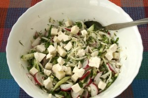 Салат к семге - фото шаг 4