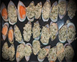 Мидии в сливочно-чесночном соусе - фото шаг 6