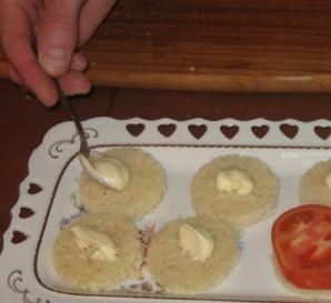 Канапе с сыром фета - фото шаг 2