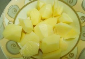 Суп из филе пангасиуса - фото шаг 2