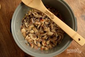 Пшенный суп с грибами - фото шаг 5