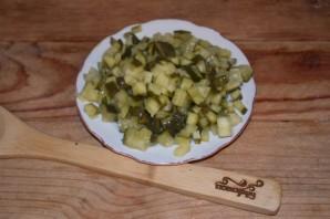 Салат из соленых огурцов и картошки - фото шаг 1