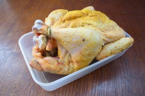 Курица под соусом в духовке - фото шаг 3