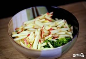 Салат из зелени - фото шаг 3
