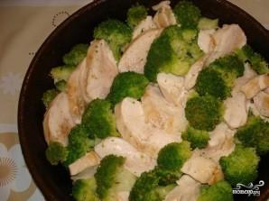 Куриное филе с брокколи в сливочном соусе - фото шаг 3