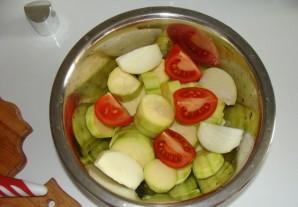 Овощи гриль в аэрогриле - фото шаг 1