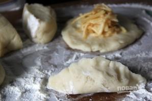 Пирожки с яблоком - фото шаг 5