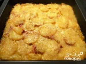 Картофель с вешенками - фото шаг 12