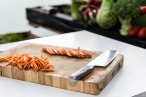 Салат легкий без майонеза - фото шаг 2