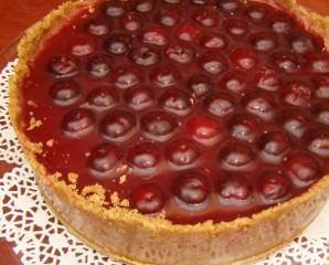 Творожно-ягодный торт - фото шаг 11