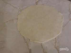 Лепешки с сыром на кефире на сковороде - фото шаг 11