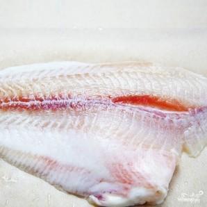 Филе пангасиуса в фольге - фото шаг 4