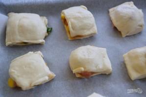 Пицца в формочке для льда - фото шаг 6