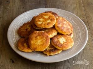 Сырники из адыгейского сыра - фото шаг 7