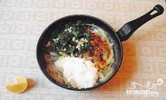 Телячьи яички в сметанном соусе - фото шаг 5